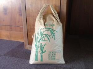 お米を寄贈いただきました。